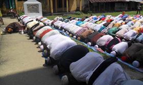 রোববার সাত জেলার ১২৫ গ্রামে ঈদ উদযাপিত