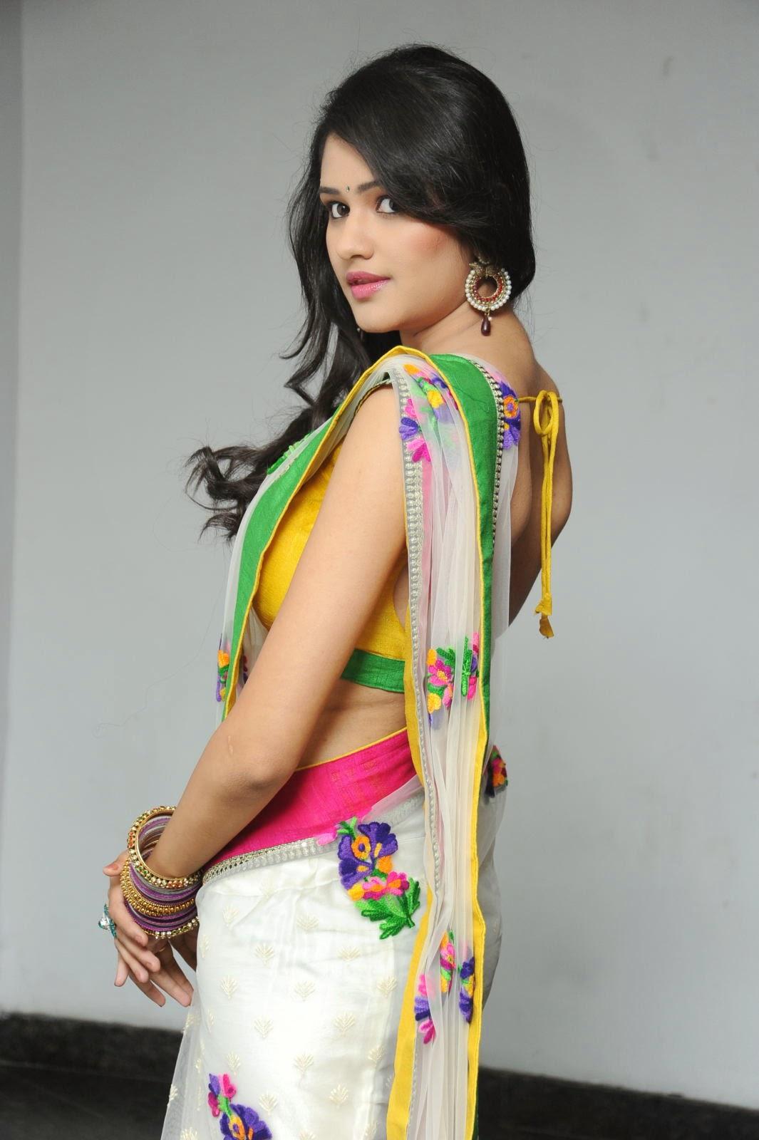 Kushi glamorous saree photos-HQ-Photo-16