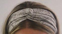 Hvordan sy turban hårbånd
