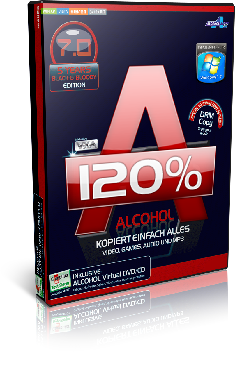 Alcohol 120 1.9.8.7117 multilanguage