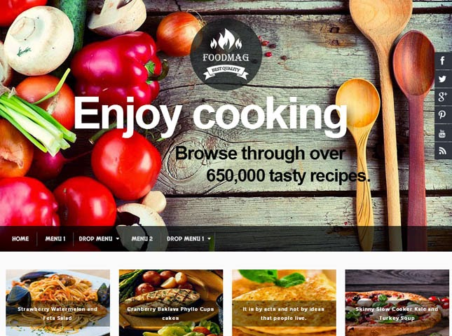 100 best free responsive blogger templates 2015 2014 help archive foodmag responsive blogger template forumfinder Choice Image