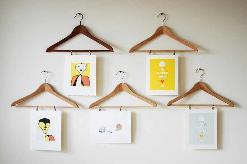 a bright bite: cheap + clever ways to frame
