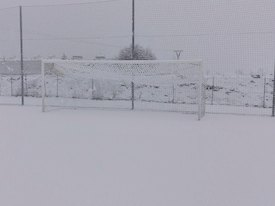 Aplazada la jornada de fútbol