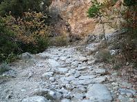 Tram de la via romana del Roc de la Guàrdia