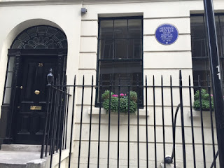 London Herman Melville house blue plaque
