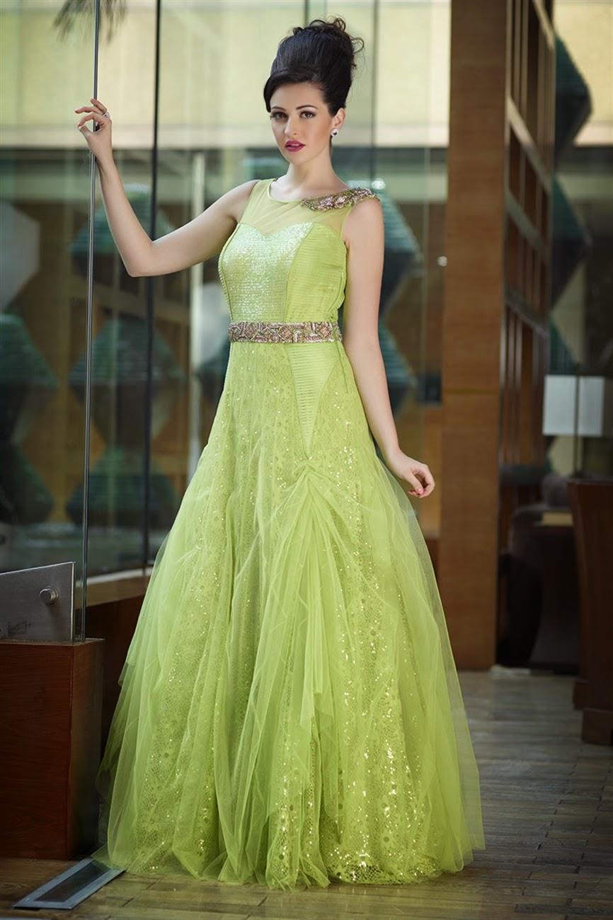 Albarino Net Elegant Wedding Gowns 2014