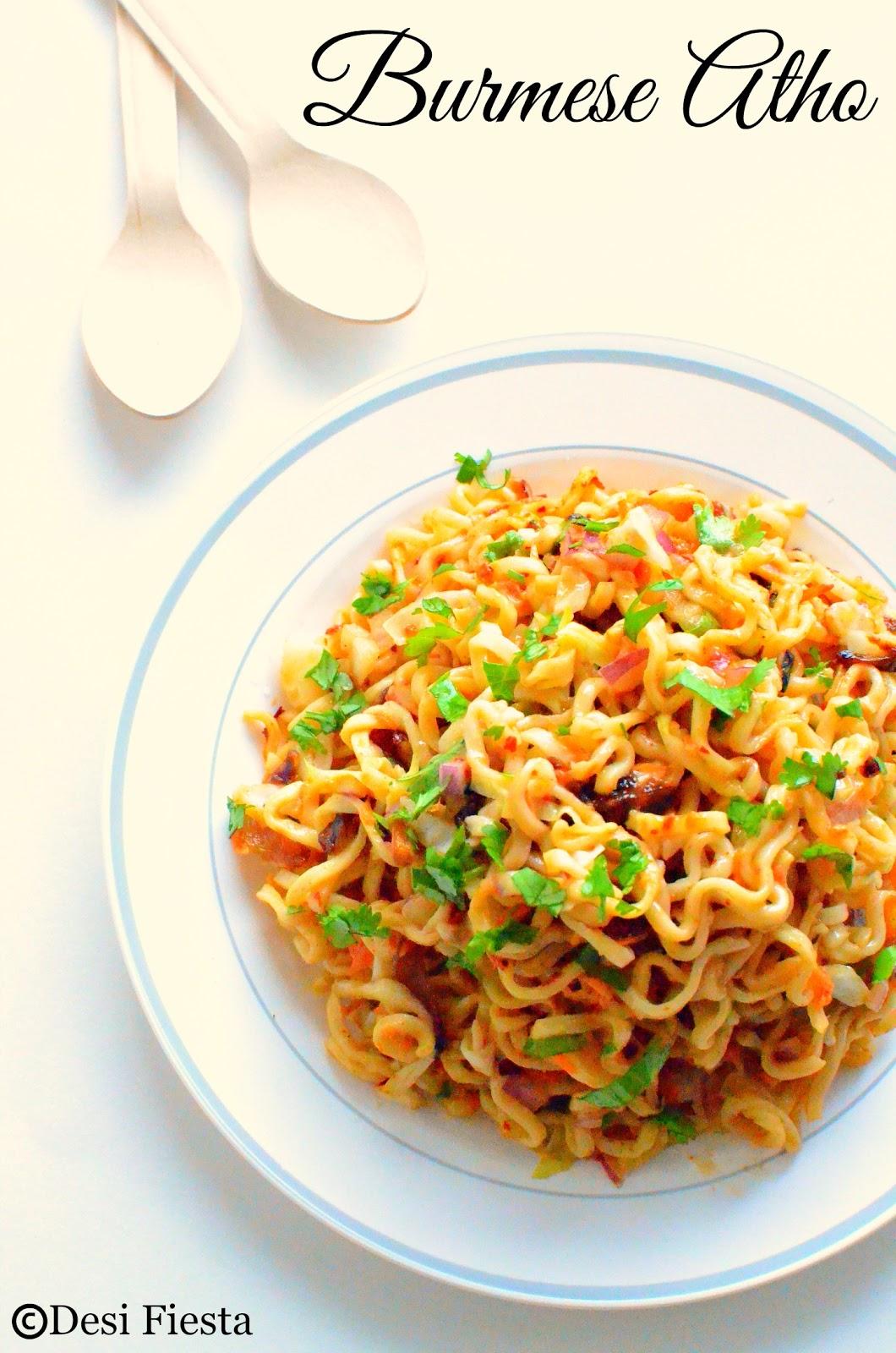 Indo Burmese Recipes
