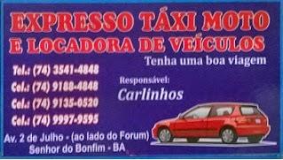 expresso táxi moto