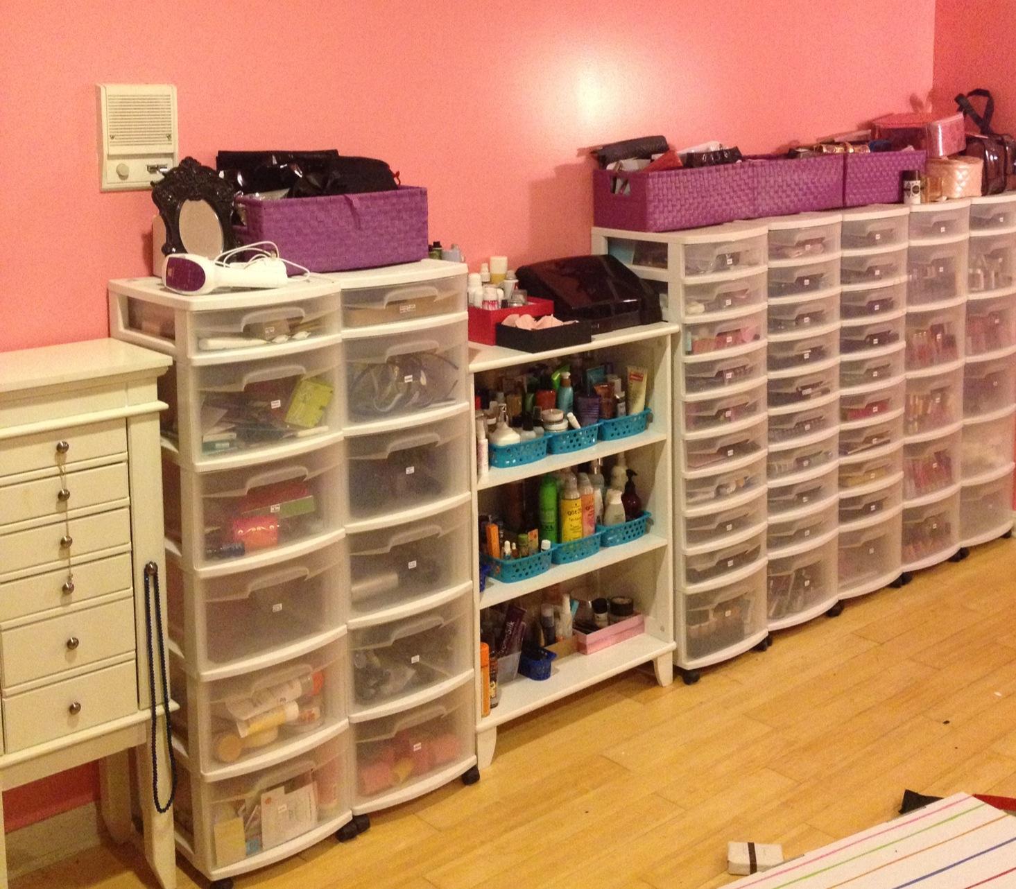 Sneak Peek At My Makeup Collection U0026 Storage/Organization