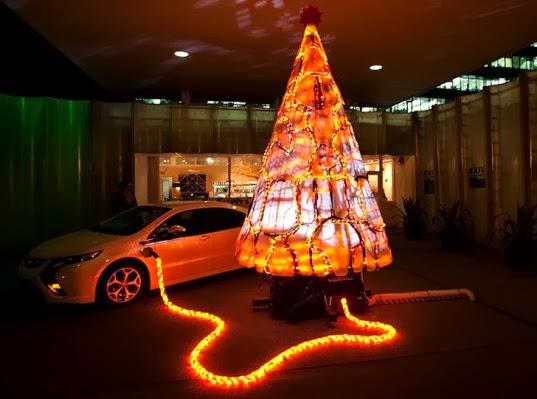 christmas car decorations that are sure to turn heads friendly chevrolet