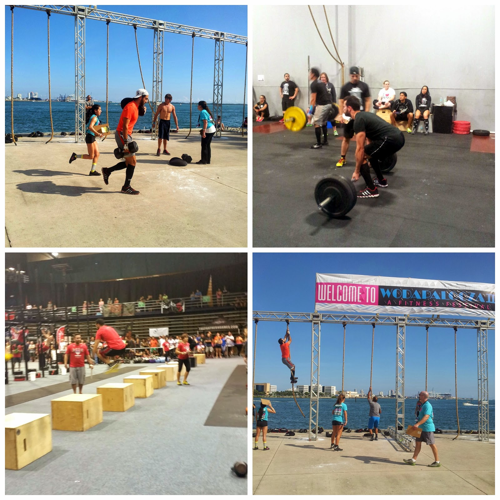 JC at various Crossfit competitions