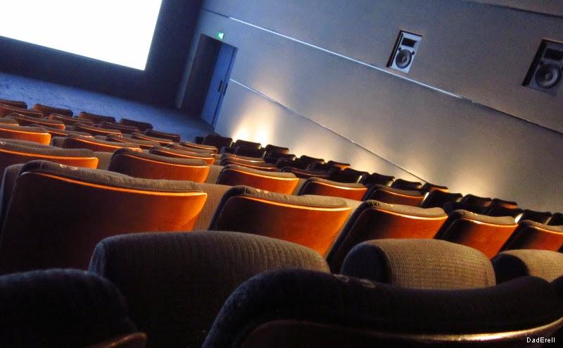 Une salle de projection du cinéma UGC Ciné Cité de Lyon