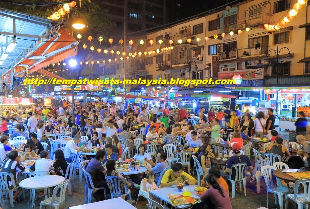 Gambar Pusat Makanan Di Bukit Bintang Kuala Lumpur