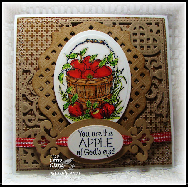 Our Daily bread Designs, Apples, Decorative Corners dies