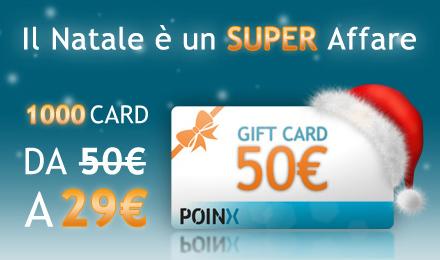 Poinx gift card