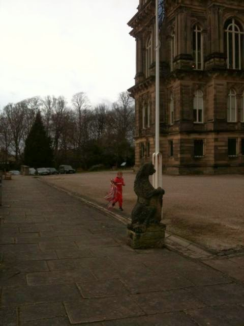 Over the finish line at The Bowes Museum