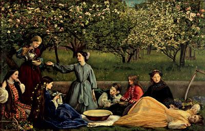 The Pre-RAphaelites - Spring by Millais