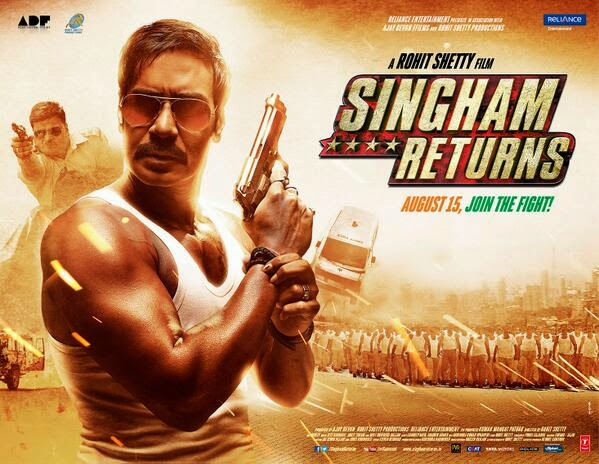 Ajay Devgan's Singham Returns (2014) First Look Poster