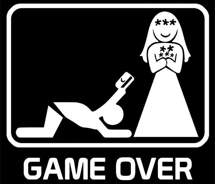game over casamento