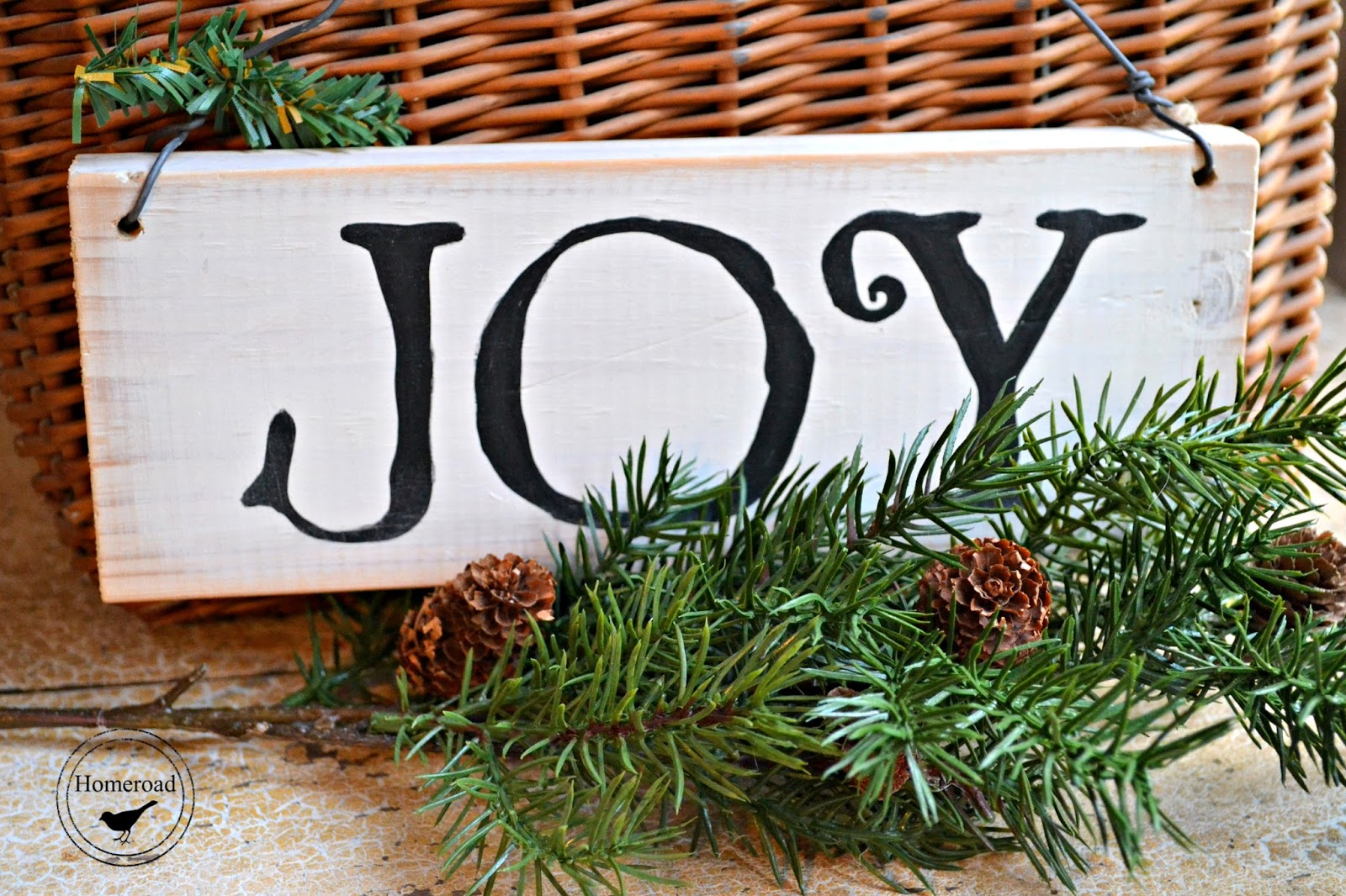 A Simply Joyful Sign Tutorial www.homeroad.net