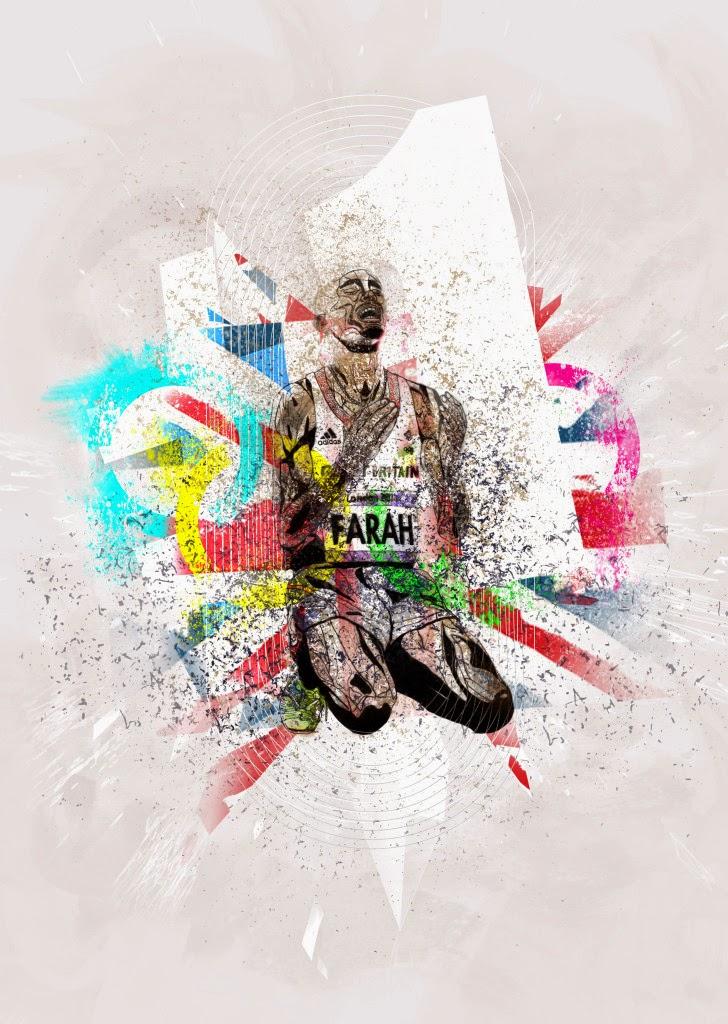 London 2012 Olympics Poster Design