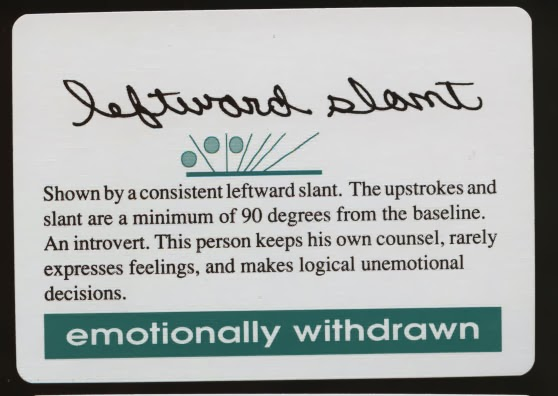 Handwriting Personality Traits