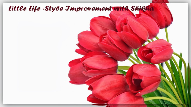 Little Little Improvement in your life and style with shikha........