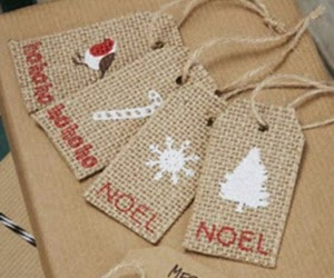 Hessian Gift Tags