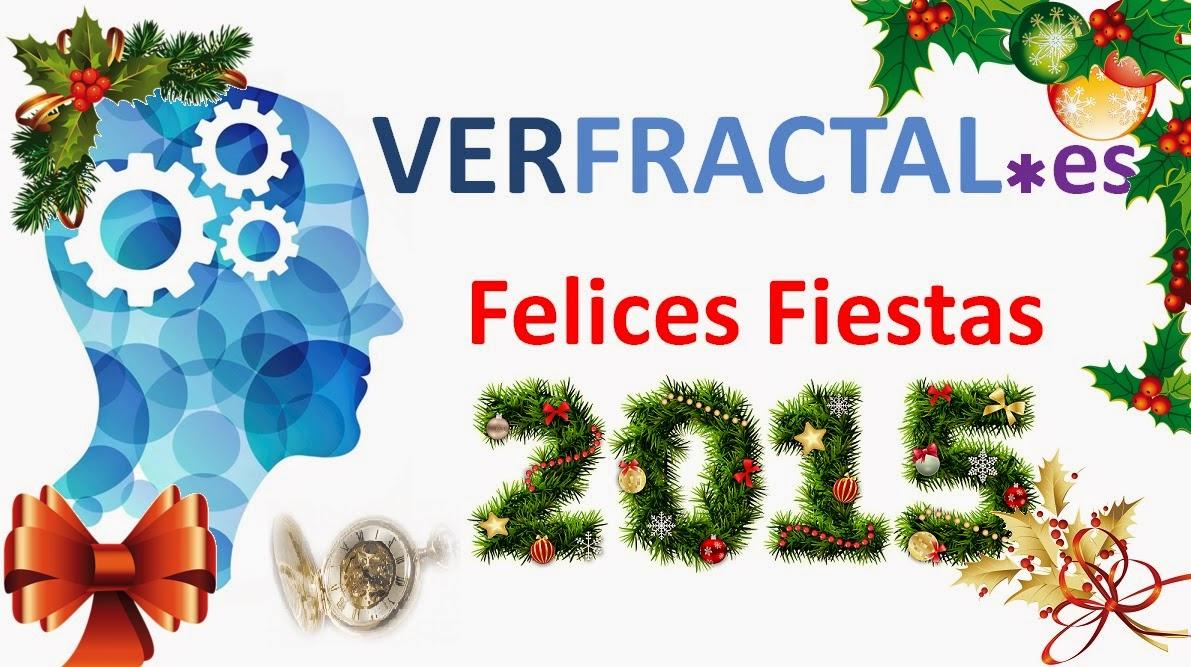 verfractal fractal feliz navidad 2015 2014 nochebuena