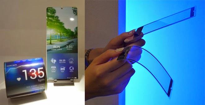 """Kyocera Proteus"", Smartphone yang Dapat Berubah Menjadi Gelang!"