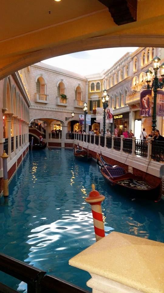 Gondola Ride in The Venetian