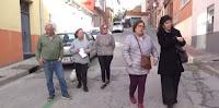 Protesta vecinal por el abandono de la calle Trébol