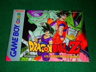 Dragon Ball Z Les Guerriers Légendaires Game Boy Color