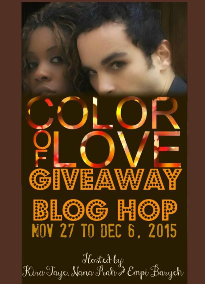 Author Kathy Bosman: Color of Love Blog Hop