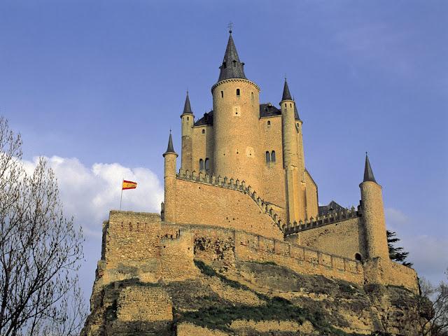 Torre Alcázar de Segovia, España
