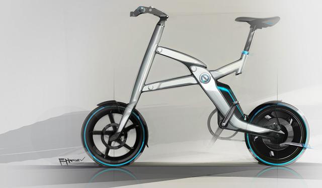 BMW lança bicicleta elétrica conceito