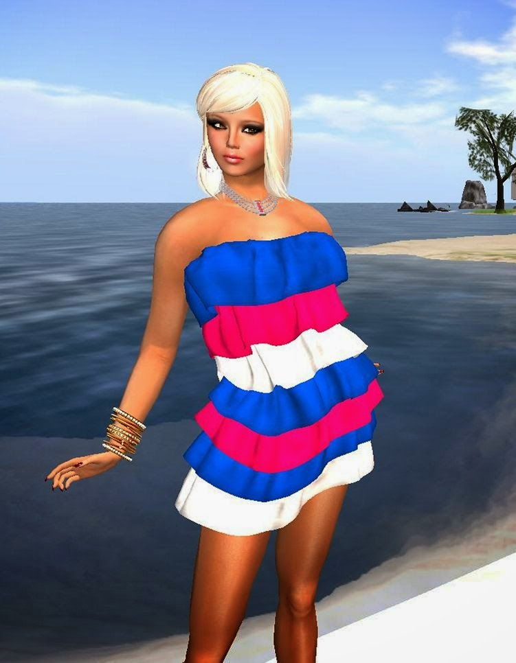 5f54332b6607d It doesn't have to cost the earth to look good in Secondlife as there are  many bargains to be had. Some, like this dress are absolute gifts.
