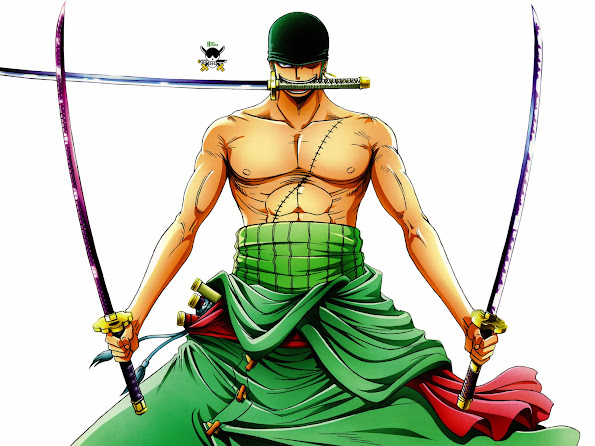 Zoro After 2 Years One Piece 2c