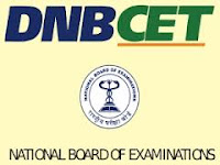 DNB CET Admit Card 2014 July Dec | NBE DNB CET Hall Ticket 2014