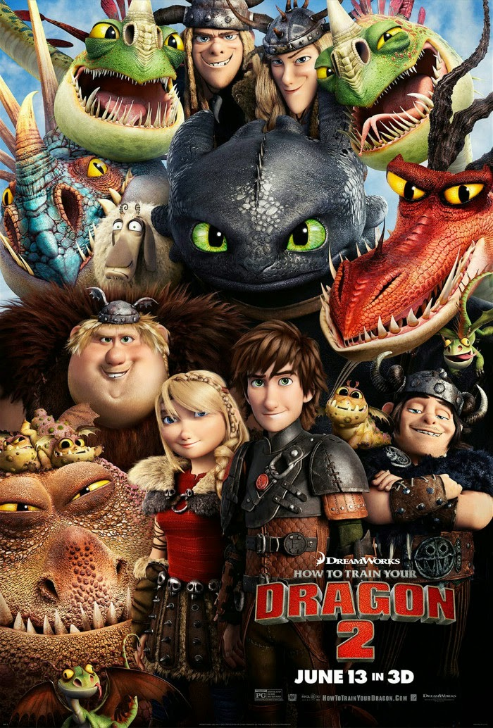 how to train your dragon 2 2014 posters