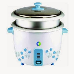 Buy Crompton Greaves Primo Plus CG-MRC92 1.8-Litre Rice Cooker for Rs. 1399 at Amazon
