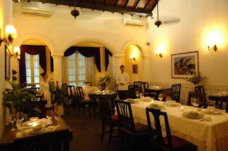 Club opera restaurant in Hanoi