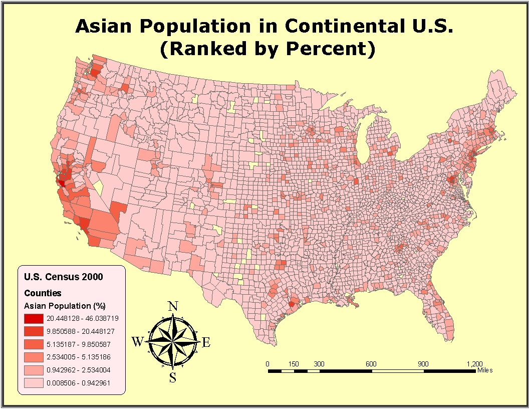 but the maps also show that migration has taken place with blacks moving to northern parts of the united states