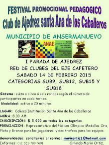 Ansermanuevo (Valle) I Parada de Ajedrez Red de Clubes Eje Cafetero (Dar clic a la imagen)