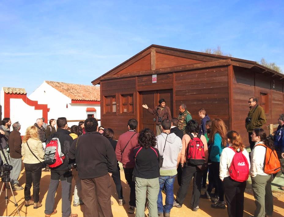 XIV Curso de Iniciación a la Ornitología, Edición 2014. Organiza el grupo local SEO-Sevilla de SEO/BirdLife. Excursión.