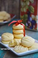 Cookies Vanilla Tepung Kentang