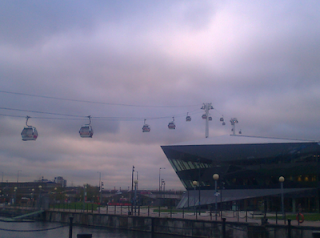 Things to do in East London - Emirates Cable Car Thames
