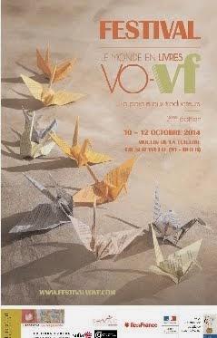 Dédicace au Festival VO-VF de Gif-sur-Yvette le 11 octobre