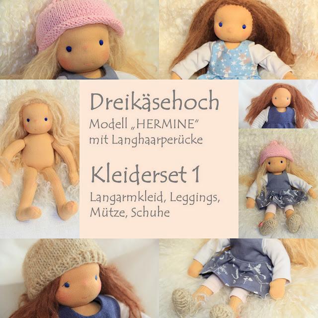 http://de.dawanda.com/product/93682815-dreikaesehoch-hermine-kleider-set-1