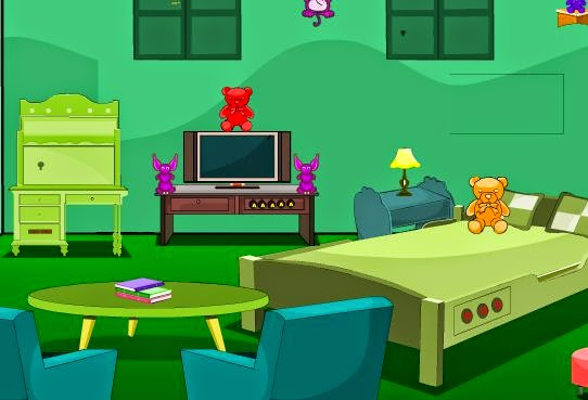 YoopyGames Escape from green bedroom